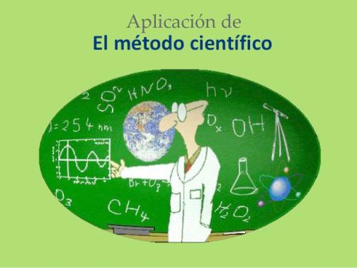 Metodo cientifico aplicacion